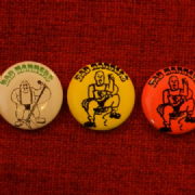 Set of Three Badges